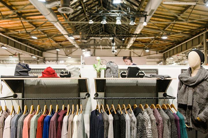 INSTINKTE Messestand Eisbär Berlin Fashion Week Premium