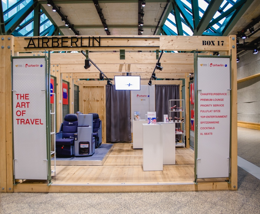 Air Berlin Bikini Berlin Pop Up Store