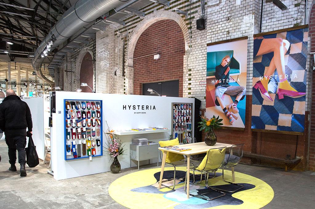 Messestand Happy Socks Hysteria Fashion Week