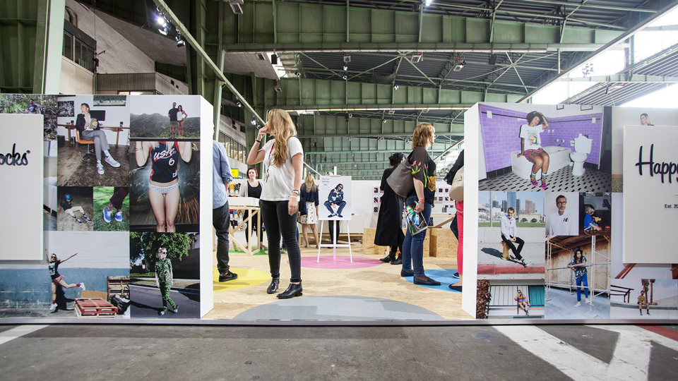 Happy Socks, Trade Booth, Bread and Butter 2014, Instinkte