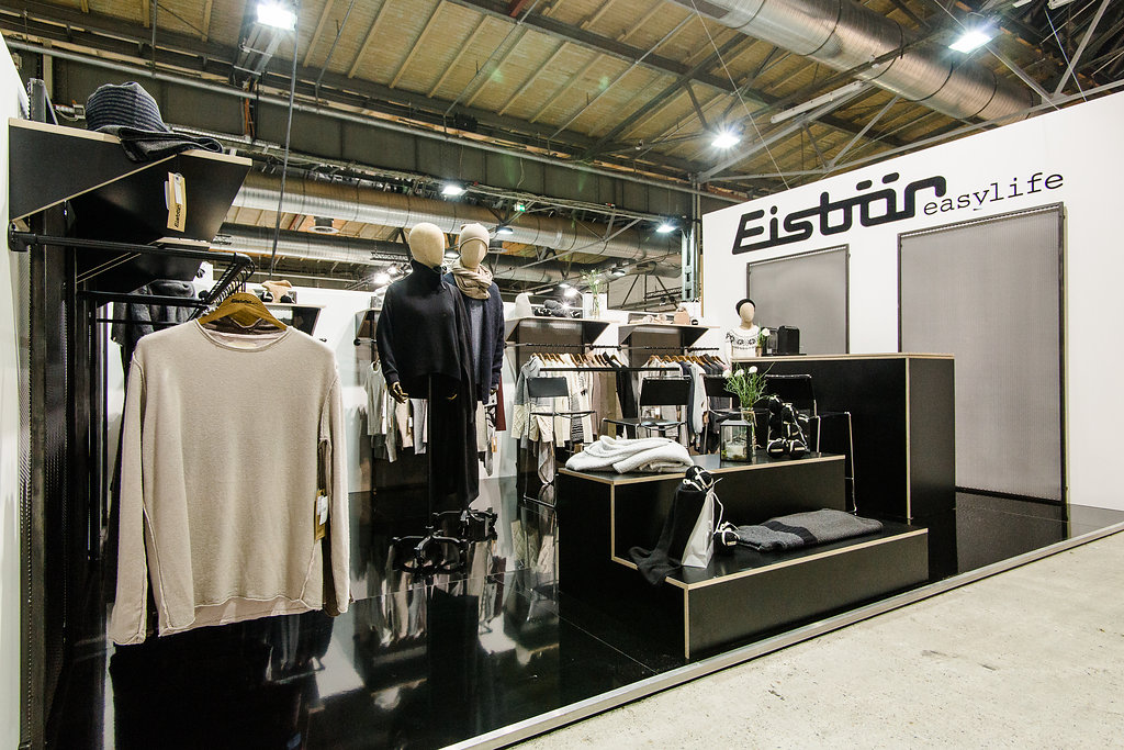 Fashion Week Berlin, Winter 2016, Instinkte, Trade Booth Design, Eisbär Easylife