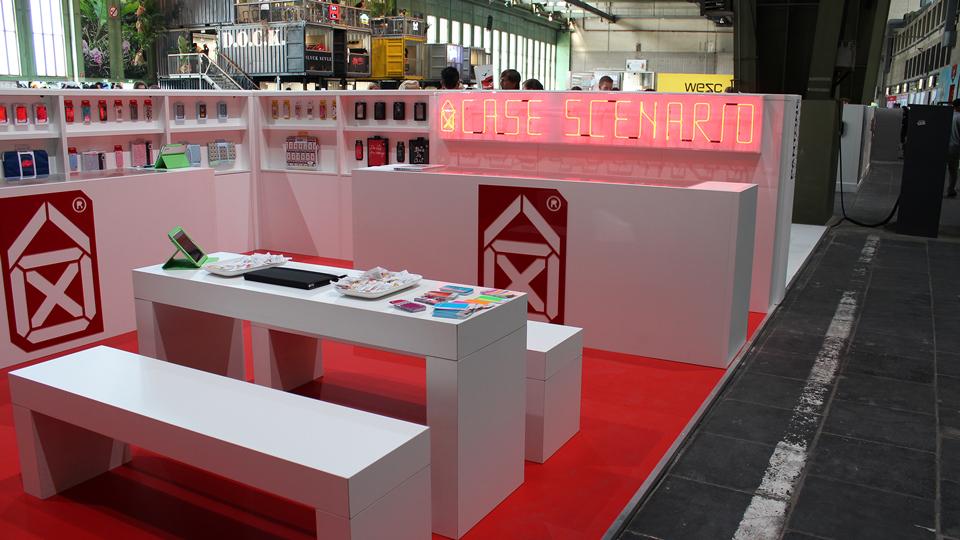 Case Scenario, Trade Booth, Design, Fashion Week Winter 2012, Bread and Butter, Berlin