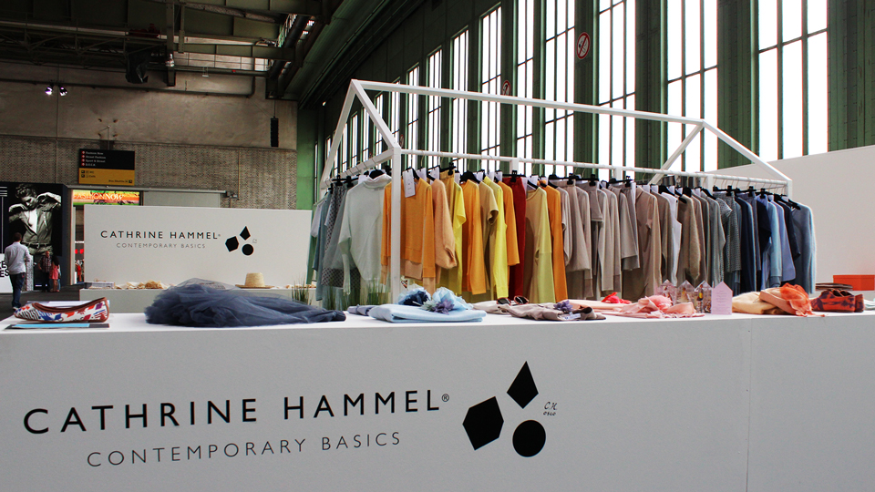 Cathrine Hammel, Trade Booth, Design, Fashion Week Winter 2012, Bread and Butter, Berlin