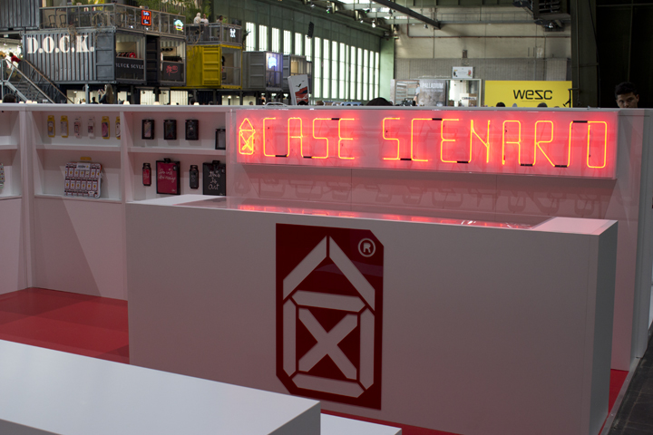 Case Scenario, Trade Booth, Design, Fashion Week Winter 2012, Bread and Butter, Berlin