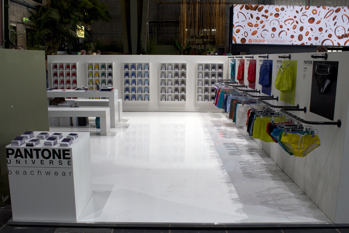 Pantone Universe, Trade Booth, Design, Fashion Week Winter 2012, Bread and Butter, Berlin