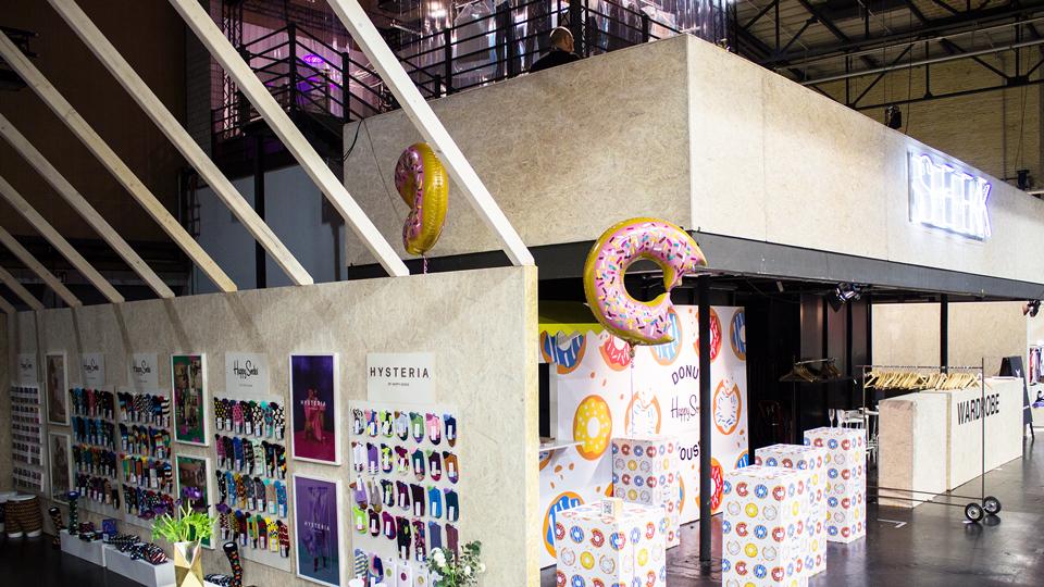 Happy Socks, Berlin, Fashion Week, Belrin 2019, Instinke, Brand communication