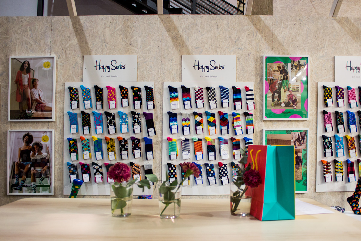Happy Socks, Berlin, Fashion Week, Belrin 2019, Instinke, Brand communication